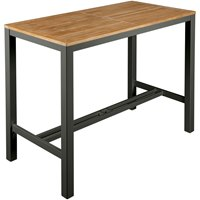 2AUH14 Barlow Tyrie Aura High Dining Table 140