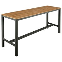 2AUH20 Barlow Tyrie Aura High Dining Table 200