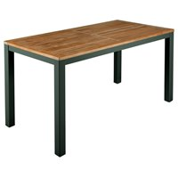 BTY2AUN14 Barlow Tyrie Aura Narrow Dining Table 140