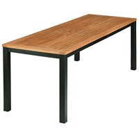 BTY2AUN20 Barlow Tyrie Aura Narrow Dining Table 200