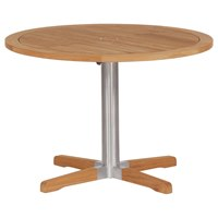 2EQC10T Barlow Tyrie Equinox Bistro Table 100