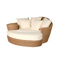 602700S Barlow Tyrie Dune Daybed & Ottoman